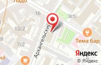 Схема проезда до компании Минар в Москве