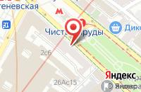 Схема проезда до компании Продюсерский Центр «Полар Стар» в Одинцово