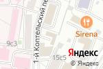 Схема проезда до компании Академия успешных женщин в Москве
