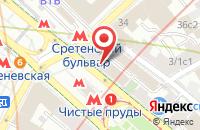 Схема проезда до компании Агро Инвест Холдинг в Москве