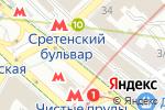 Схема проезда до компании ТрансГрупп в Москве