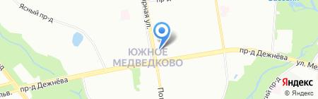 Многофункциональный центр предоставления государственных услуг на карте Москвы