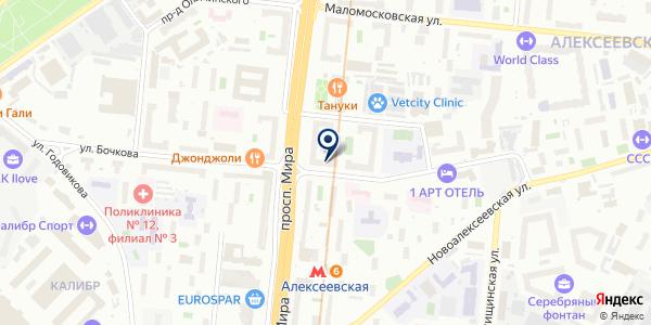 ПлодОвощПак на карте Москве