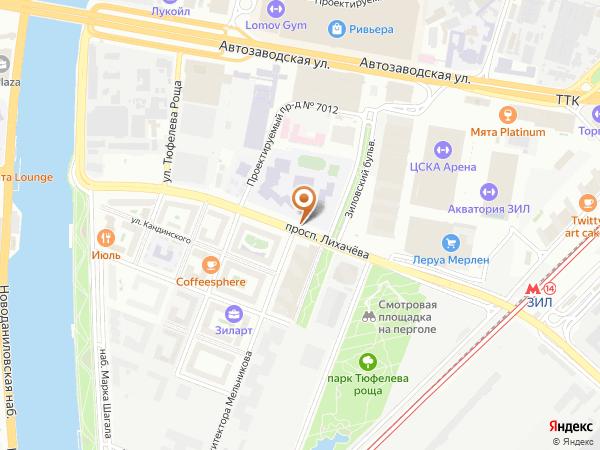 Остановка «Школа», проспект Лихачёва (1008877) (Москва)
