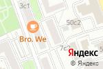 Схема проезда до компании Инженерная служба района Замоскворечье в Москве