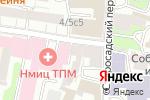 Схема проезда до компании April.beauty.point в Москве
