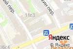 Схема проезда до компании Европейшес Райзебюро в Москве