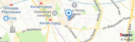 СПАРК на карте Москвы