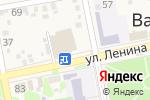 Схема проезда до компании Хлеб в Варениковской