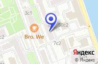 Схема проезда до компании МЕБЕЛЬНЫЙ САЛОН АЯКС в Москве