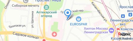 Предместье на карте Москвы