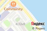 Схема проезда до компании Евсеев и партнеры в Москве