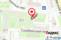 Схема проезда до компании Рикс Компани в Москве