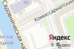 Схема проезда до компании Центральное территориальное управление имущественных отношений в Москве