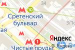 Схема проезда до компании ПластМонтажСтрой в Москве