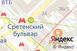 Схема проезда до компании Хобби-Универ в Москве