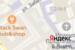 Схема проезда до компании Mascara в Москве