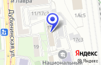 Схема проезда до компании МЕДИЦИНСКОЕ ОБЪЕДИНЕНИЕ ЛОНКО в Москве