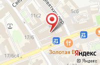 Схема проезда до компании Энергофинконсалтинг в Москве