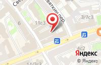 Схема проезда до компании Картопласт в Москве