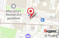 Схема проезда до компании Артишок Продакшн в Москве