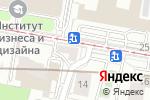 Схема проезда до компании Ma-Belle в Москве