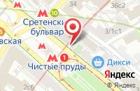 Схема проезда до компании Общество С Ограниченной Ответственностью »Рекламно-Полиграфическая Компания «Экспресс« в Москве