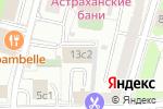 Схема проезда до компании Иокогава Электрик СНГ в Москве