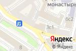 Схема проезда до компании КБ Финанс бизнес банк в Москве
