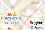 Схема проезда до компании ДокторПластик в Москве