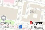 Схема проезда до компании ЭМАльянс в Москве