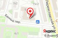 Схема проезда до компании Уралтехпром в Москве