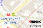 Схема проезда до компании Центр медицины плода в Москве