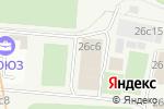Схема проезда до компании Melody Stars в Москве