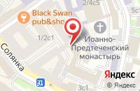 Схема проезда до компании Диас в Москве
