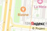 Схема проезда до компании Кухни Белоруссии в Москве
