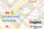 Схема проезда до компании Psy-center в Москве