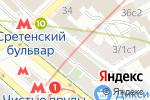 Схема проезда до компании Московская судоходная компания в Москве