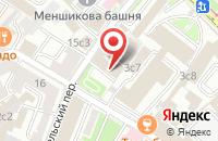 Схема проезда до компании Омиком в Москве