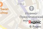Схема проезда до компании ID PROJECT в Москве