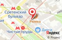 Схема проезда до компании Рекламное Агентство «Фрэш Медиа» в Москве