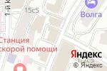 Схема проезда до компании Интердорстрой в Москве