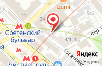 Схема проезда до компании Мастер Плюс в Москве