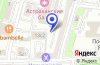 Схема проезда до компании ТФ ФИНСКИЕ ЗАМКИ в Москве