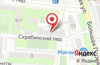 Схема проезда до компании Авекс в Москве
