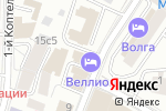 Схема проезда до компании РыбОхотСоюз в Москве