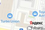 Схема проезда до компании Behringer в Москве