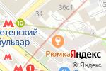 Схема проезда до компании Smoking space в Москве