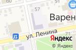 Схема проезда до компании Детский сад №9 в Варениковской