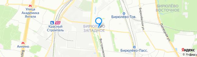 район Бирюлёво Западное